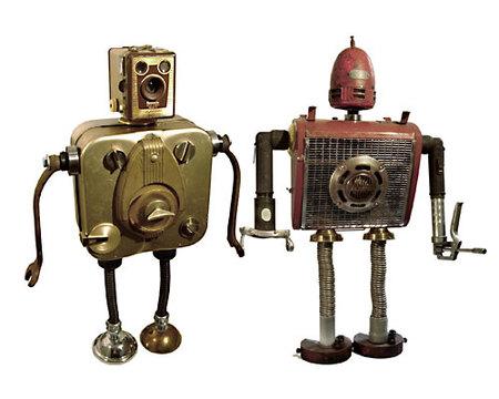 Роботы-скульптуры Gordon Bennett. Изображение № 6.