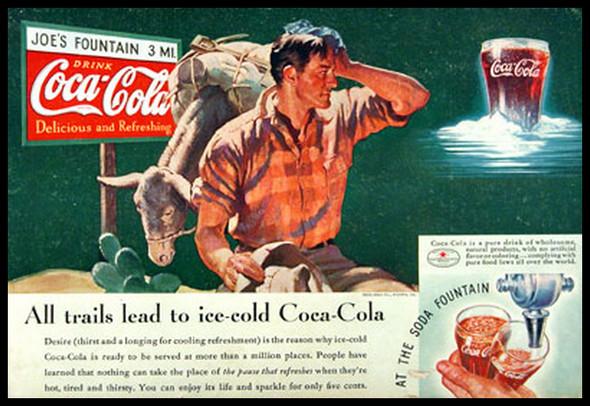 Изображение 11. Coca-cola – История бренда, история рекламы.. Изображение № 11.