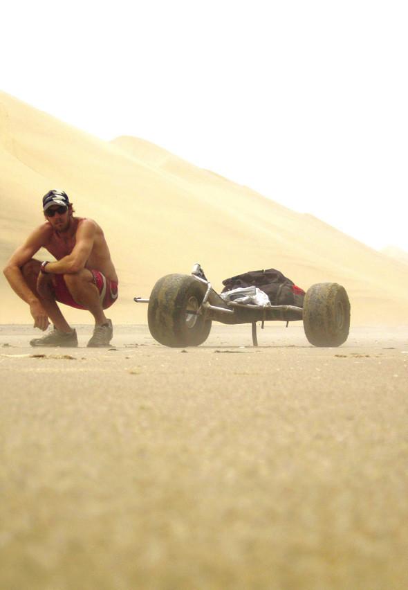 Пересечение пустыни Намиб на кайт-багги. Изображение № 8.