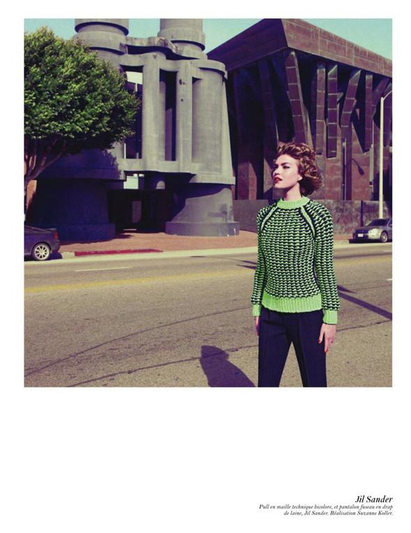 Съёмка: Аризона Мьюз, Лара Стоун, Наташа Поли и другие модели во французском Vogue. Изображение № 18.