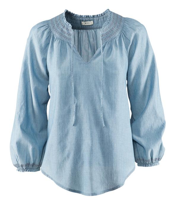 Джинсовое вдохновение: рубашка. Изображение № 24.