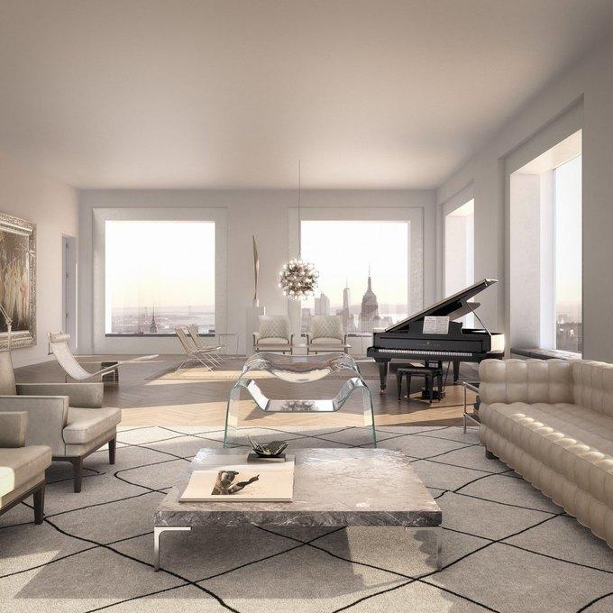 Фото дня: вид с самого высокого жилого здания Нью-Йорка. Изображение № 9.