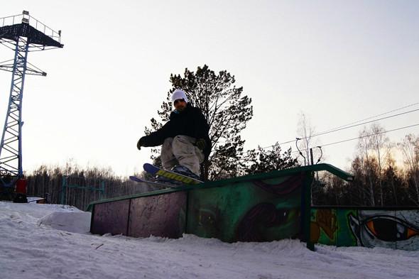 Academ Snowboard Park, Иркутск. Изображение № 12.