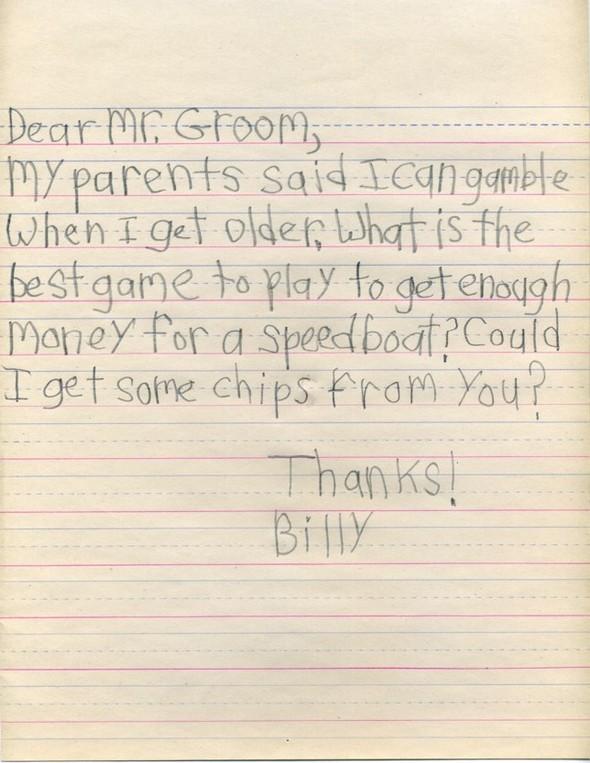 Письма маленького Билли известным и не очень людям. Изображение № 14.