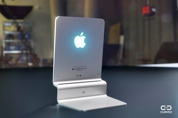 Концепт: современный iMac в стиле Macintosh 128K 1984 года. Изображение № 3.