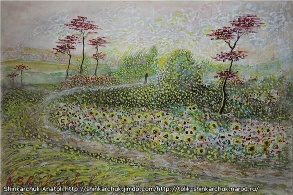 Shinkarchuk Anatoly watercolor and Japan Шинкарчук Анатолий акварель и Япония. Изображение № 20.