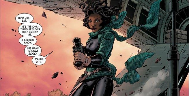 Marvel внесла изменения в историю Хана Соло . Изображение № 1.