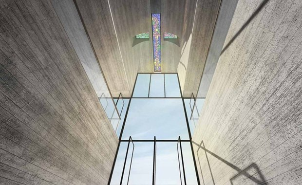 Архитектура дня: концепт церкви-креста на отвесной скале. Изображение № 2.