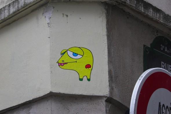 Стрит-арт центра Парижа. Изображение № 9.