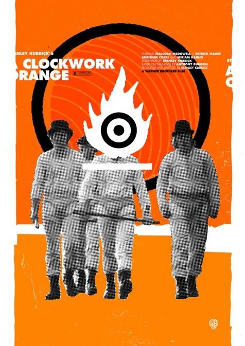 A Clockwork Orange - 20 кинопостеров на тему ультранасилия. Изображение № 18.