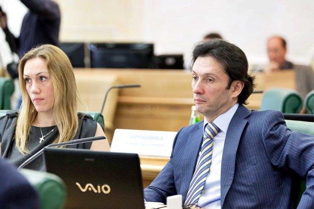 Член Совета Федерации РФ Максим Кавджарадзе. Изображение № 1.