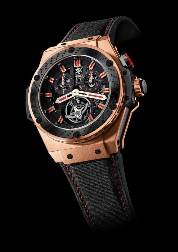 Hublot F1 King Power Tourbillon King Gold Ceramic . Изображение № 30.