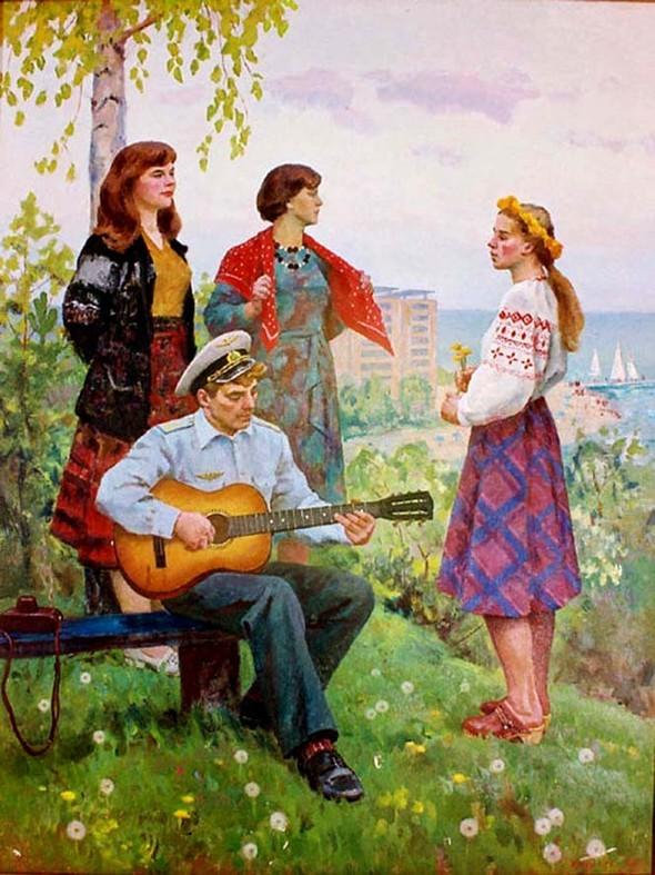 Музыка в живописи. Изображение № 5.