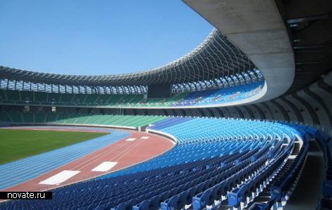 Стадион насолнечных батареях. Изображение № 5.