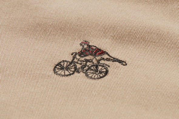 PAUL SMITH JEANS SS12 CYCLIST EMBROIDERED SHORTS. Изображение № 5.