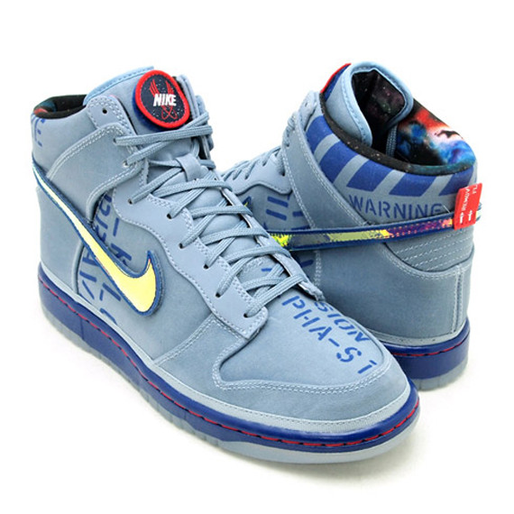 Nike Dunk High Premium QS All-Star 2012 Pack. Изображение № 5.