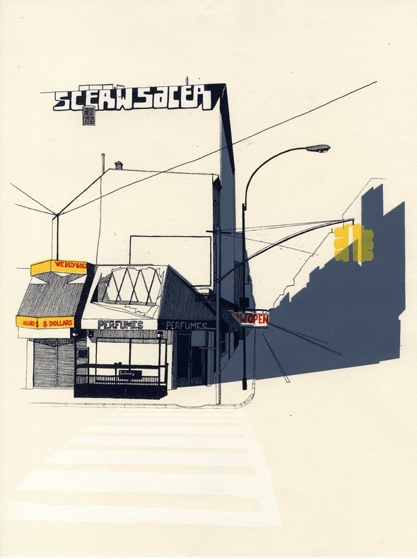 Suburbia byJess Douglas. Изображение № 4.