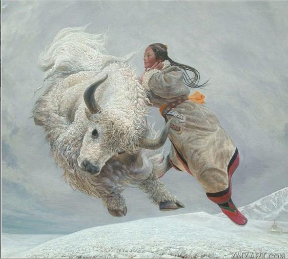 Wang Yi Guang. Feitain, или летающий пух. Изображение № 15.