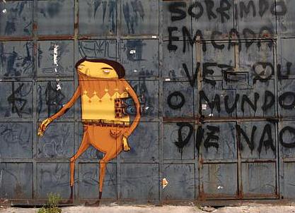 Стены Рио-де-Жанейро. Изображение № 48.
