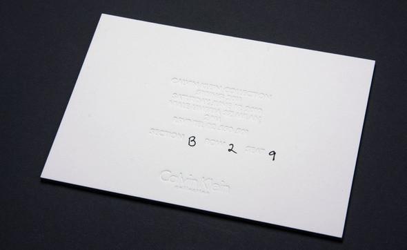 Изображение 8. Men's S/S 2011 fashion show invitations.. Изображение № 8.