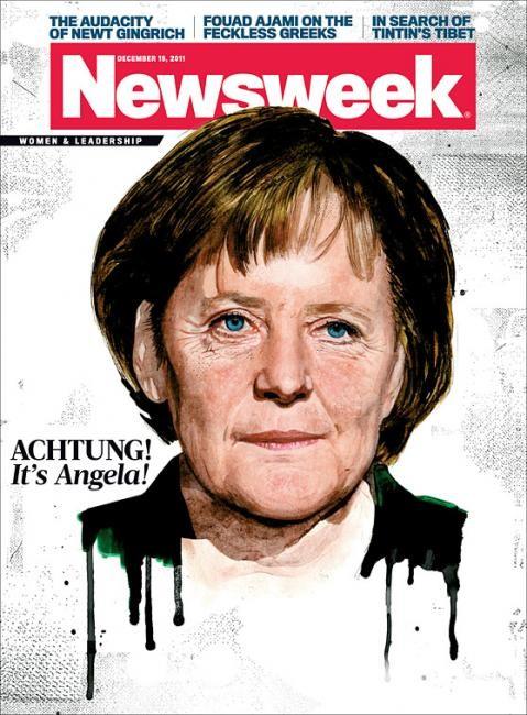 Самые красивые обложки журналов в 2011 году. Изображение № 68.