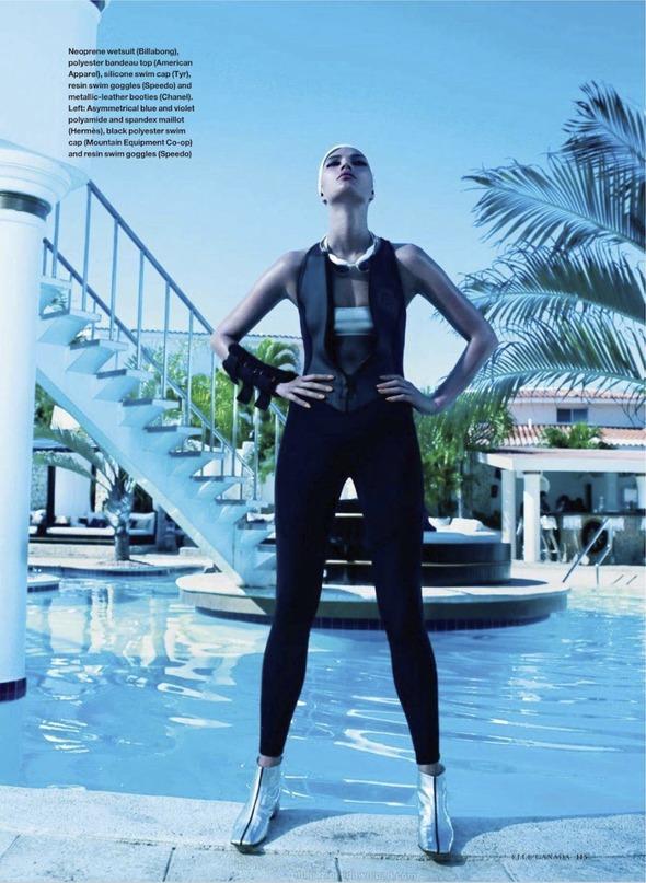 Съемки: Numero, Vogue, W и другие. Изображение №5.