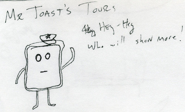 THEWORLD OFMR. TOAST. Изображение № 5.