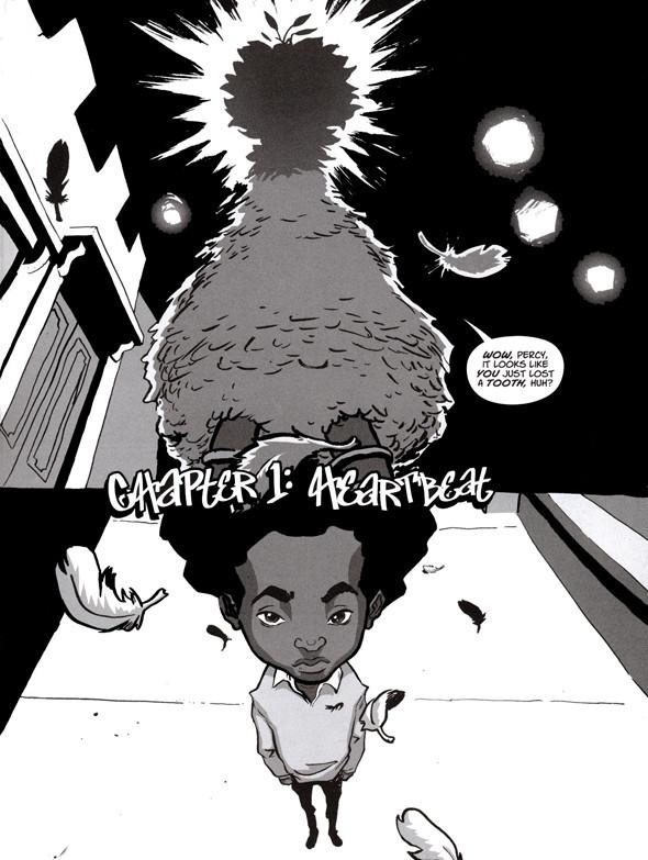 Комиксы легенды хип-хопа. Изображение № 5.
