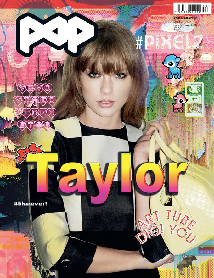 Вышли новые обложки AnOther, CR Fashion Book и POP. Изображение № 1.