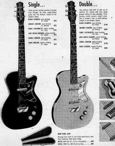 Danelectro, гитары. Изображение № 2.