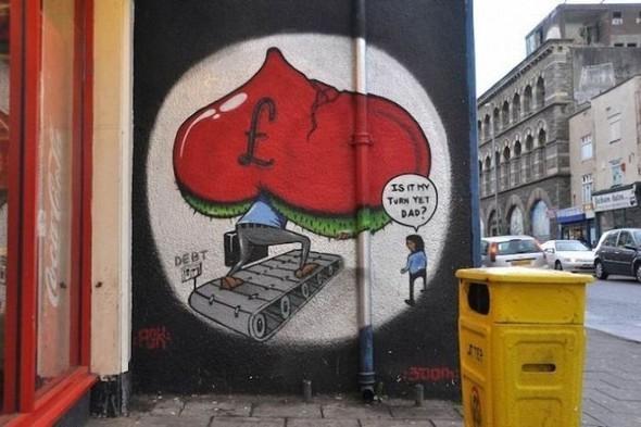 Изображение 30. Бристоль. Художественное граффити.. Изображение № 32.