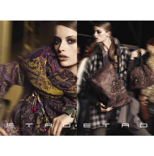 Новые рекламные кампании: Etro, Mulberry и другие. Изображение № 4.