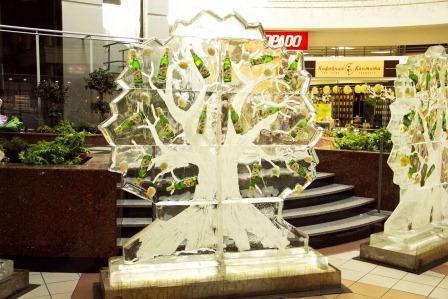 Zlaty Bazant Naturalny Radler: Ледяные деревья. Изображение № 1.