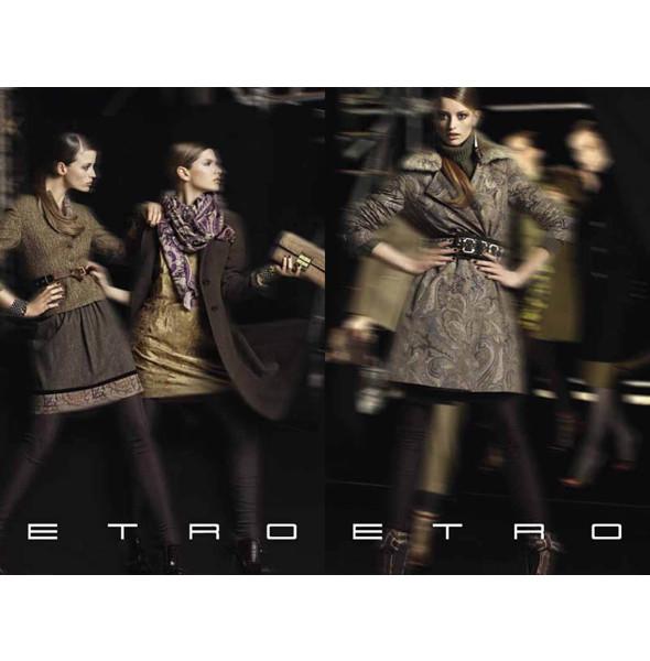 Новые рекламные кампании: Etro, Mulberry и другие. Изображение № 5.