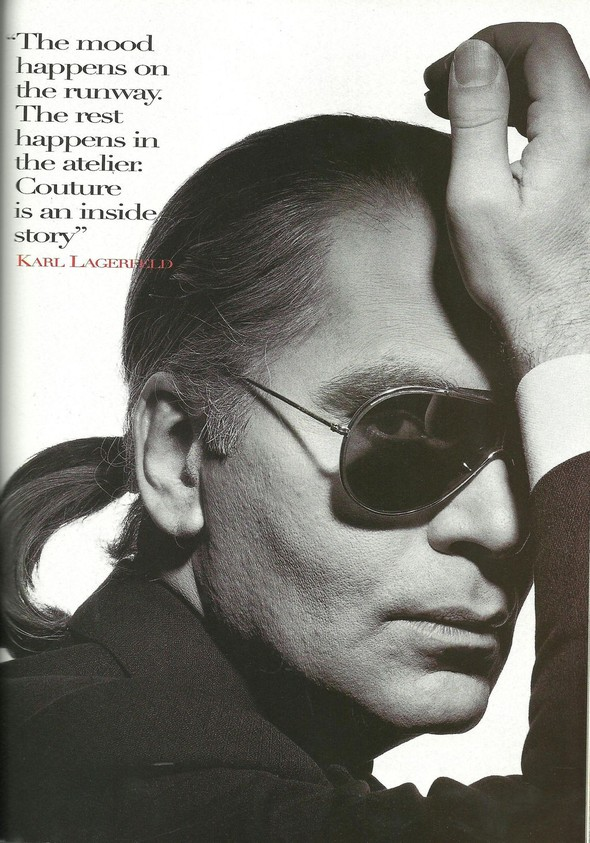 Архивная съёмка: Модели и дизайнеры в объективе Ирвинга Пенна для Vogue, 1995. Изображение № 10.