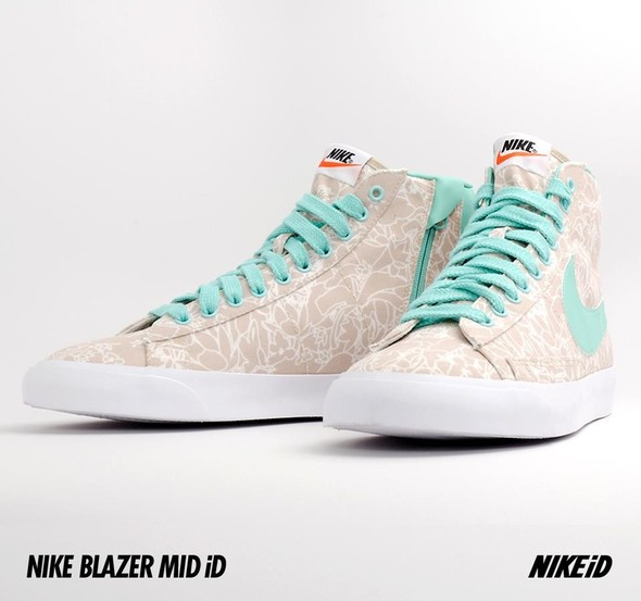 Nike X Liberty Summer Collection/  Blazer Mid iD.. Изображение № 20.