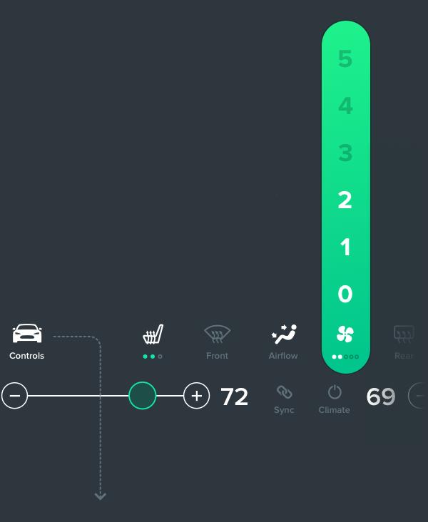 Концепт: интерфейс компьютера Tesla Model S. Изображение № 10.
