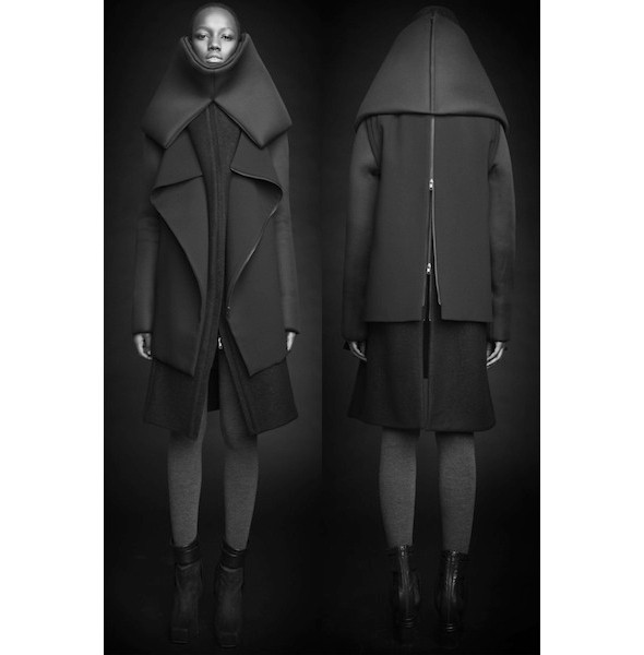 Изображение 23. Лукбуки: Bergdorf Goodman, Jaeger Black и Rad Hourani.. Изображение № 23.