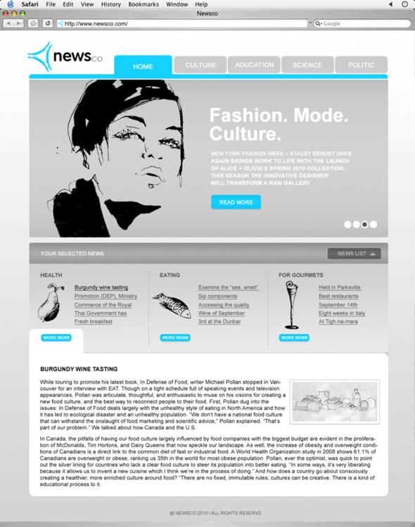 Site. Main page. Изображение № 2.