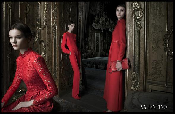 Кампания: Valentino A/W '12. Изображение № 1.