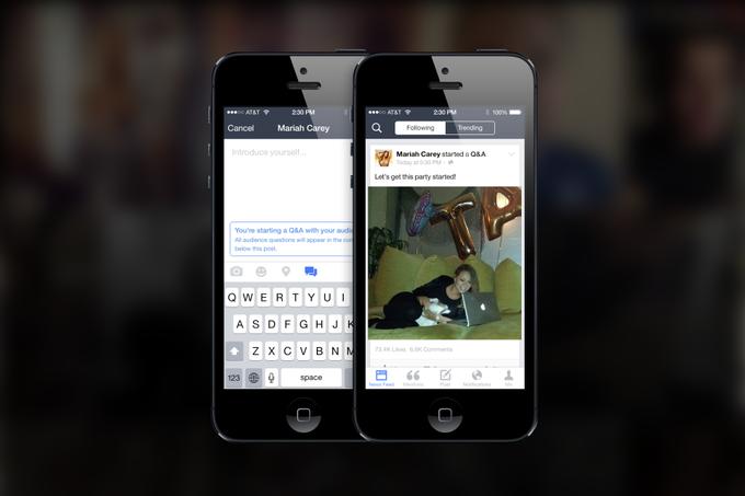 Facebook выпустил приложение для знаменитостей Mentions . Изображение № 4.