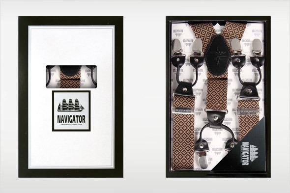 Коллекция подтяжек «Навигатор» от Sevaro Elit . Изображение № 7.