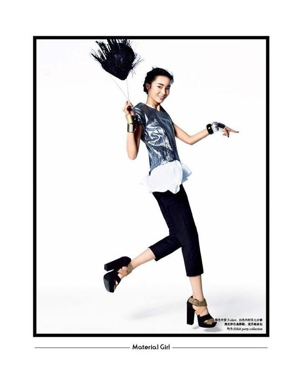 Съёмка: Лина Чжан, Мин Фэй Ни и Сяо Вэнь Цзюй в H&M для SHC. Изображение № 9.