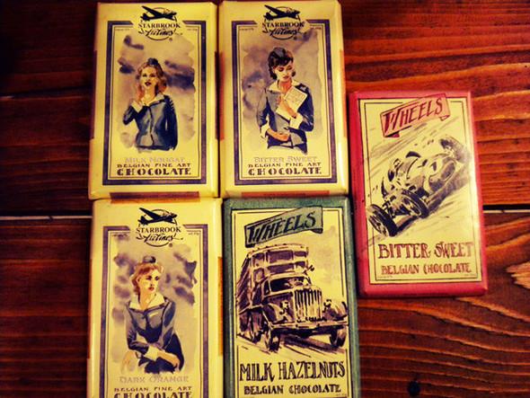 Dolce Vita! Винтажные обертки для шоколада и конфет. Изображение № 16.