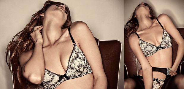 Лукбук  осенне-зимней кампании бренда нижнего белья Lasсivious. Изображение № 2.