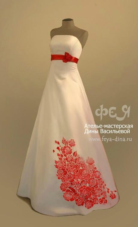 коллекция свадебных платьев от ателье - мастерской Дины Васильевой. Изображение № 2.