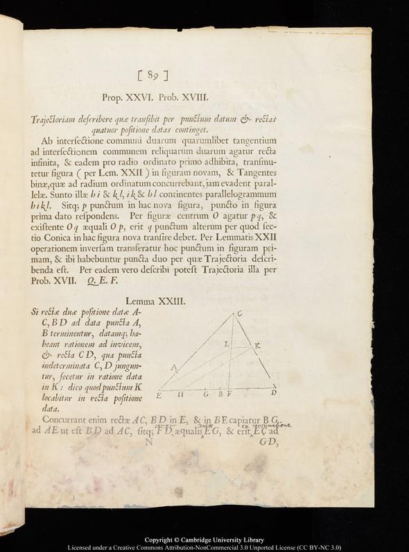 """Черновики Ньютона и первое издание """"Начал"""" выложены в сеть. Изображение № 8."""