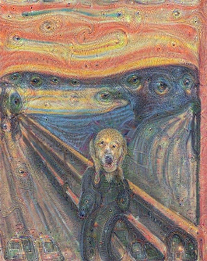 Нейронные сети Google научились «рисовать» картины . Изображение № 9.