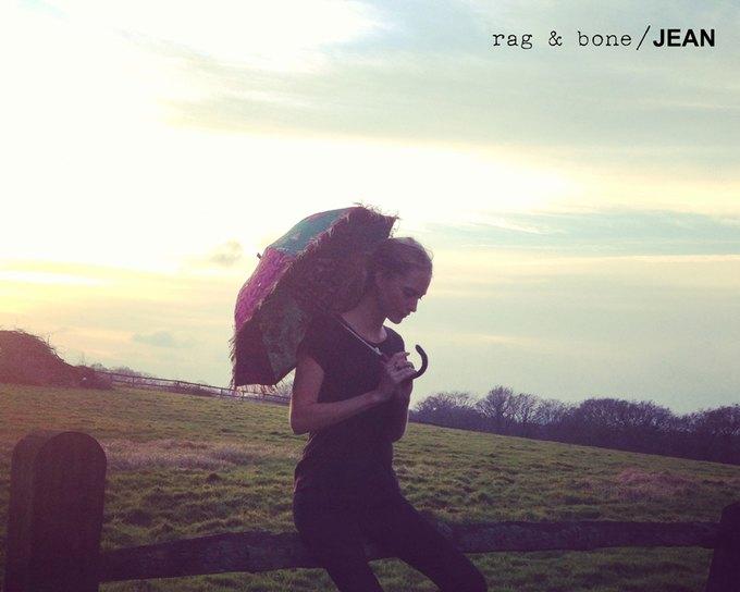Камила Роу сняла Поппи Делевинь для Rag & Bone. Изображение № 20.