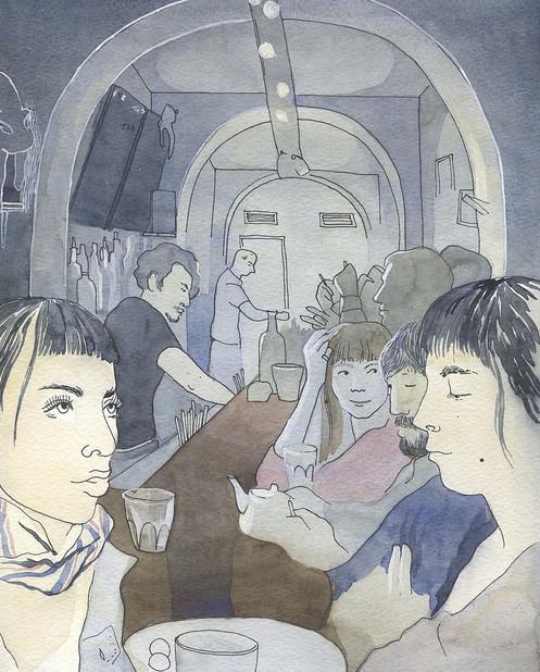 Изображение 13. Что происходит, когда иллюстратора пускают на модный показ.. Изображение № 12.